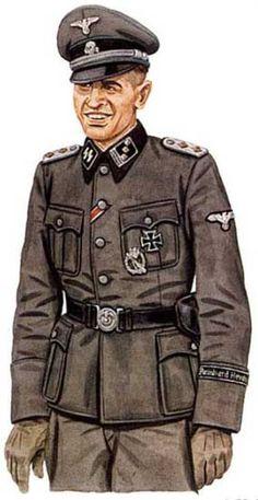Hauptsturmfuhrer gebirgs division ss nord, 1943, pin by Paolo Marzioli