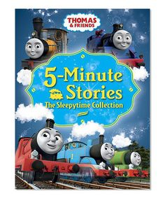 Love this Thomas & Friends 5-Minute Stories: The Sleepytime Collection by Thomas & Friends on #zulily! #zulilyfinds