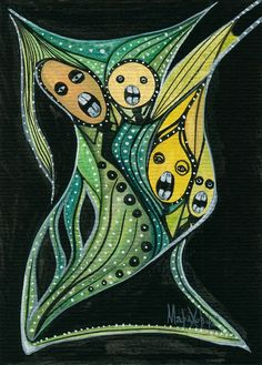 'SINGING ONIONS' by marachowska on artflakes.com as poster or art print $27.72