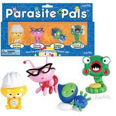 Parasite Pals Figures - Archie McPhee - 1