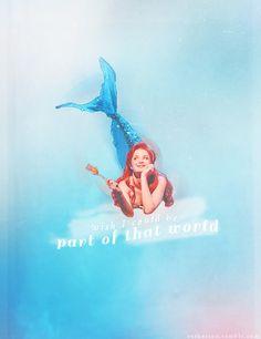 Sierra as Ariel