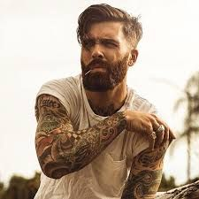 Image result for sexy beard model