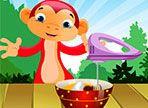 La scimmia ha deciso di svelarvi una ricetta segreta che la sua bisnonna scrisse nel suo libro di ricette. Dopo aver acquistato gli ingredienti, seguite il procedimento.