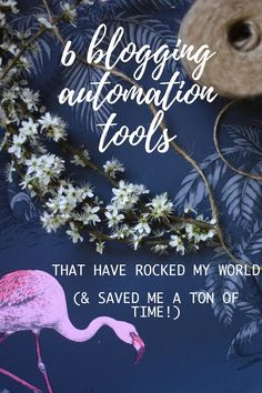 6 blogging automation tools that have rocked my world (and saved me a ton of time) Cityscape Bliss // Blog Cheat Sheet blogging tips blog tips best blog automation tools 2017
