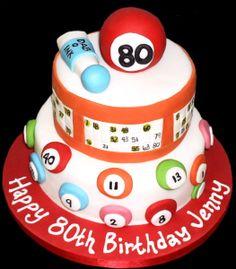 Bingo Birthday Cake cakepins.com