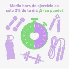 No importa la hora sólo que lo realices. 30 min es un pequeño porcentaje de tu dia. No tienes excusas Si se puede  #30min #SiSePuede #ActividadFisica #ejercicio #Deporte