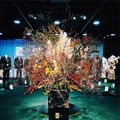 #flowerdesign #autumn #渋谷ヒカリエ Landscape Design, Christmas Tree, Holiday Decor, Home Decor, Teal Christmas Tree, Decoration Home, Room Decor, Landscape Designs, Xmas Trees