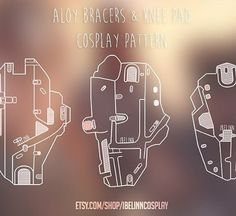 There's a lot of new Aloy cosplayers joining the ranks now after Horizon Zero Dawn released, so I figured that I would make some patterns available for anyone interested. Just to help out.  These are basically just updated patterns from the ones I used myself for my Aloy cosplay :) So I've put it up on my etsy store, you can either find direct link on my facebook page, or go to; www.etsy.com/store/ibelinncosplay (Obviously high quality vector drawings, not as low resolution as these…