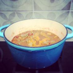 Marokkaans stoofpotje, met recept! Lekker met couscous.