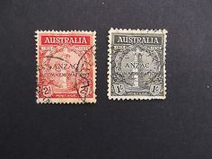 #Australia- 1935 20th anniv. of #gallipoli #landing used set,  View more on the LINK: http://www.zeppy.io/product/gb/2/272047218775/
