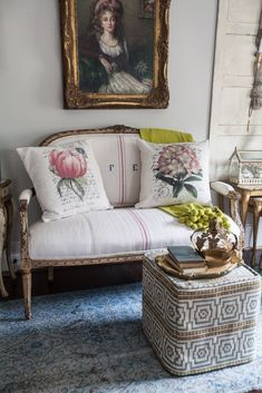 Shabby Chic Interior Design Ideas For Your Home Modern French Country, French Country Cottage, French Farmhouse, Country Cottages, Country Farmhouse, Shabby Chic Interiors, Shabby Chic Decor, French Decor, French Country Decorating
