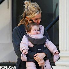 So cute!! Sienna Miller hugged Marlowe Sturridge on their outing.