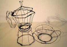 Martin Senn, Drahtskulpturen - Startseite
