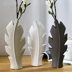 Creative Ceramic Simple Modern Flower Vase Tree Floral Arrangement Home Furnishing Jewelry Ornaments Desktop Office Decoration Leaf Flowers, Ceramic Flowers, Flower Vases, China Vase, Vintage Bathroom Accessories, Romantic Candle Light Dinner, Flower Ornaments, Decorating With Christmas Lights, Decor Crafts