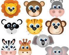 Here you find the best free Clipart Animal Faces collection. You can use these free Clipart Animal Faces for your websites, documents or presentations. Animal Faces, My Animal, Girl Clipart, Safari Animals, Collage Sheet, Art Images, Painted Rocks, Clip Art, Quilts