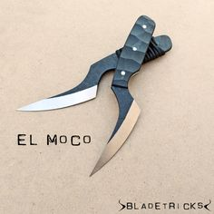 The Bladetricks Moco is a small and elegant EDC knife with a very persuasive blade designed to slash and to penetrate. #edc #knife #cool