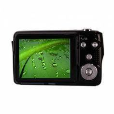 Digital Camera  This camera has a CMOS sensor, 15MP image resolution, video resolution, 2.7 inch TFT screen display, 3x optical zoom and 4x digital zoom.