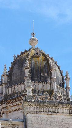 Le dôme de l'église du monastère des Hiéronymites - blog Bar à Voyages #portugal #belem #patrimoine #heritage #monastere #monastry #dome #jeronimos