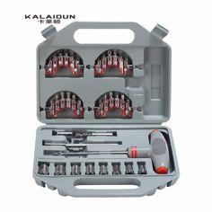 62.39$  Know more  - KALAIDUN 40pcs Household Multifunction Screwdriver Set T-Screwdriver Set Ratchet Handle Tools Set