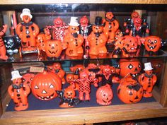 vintage plastic halloween - we used to have these...