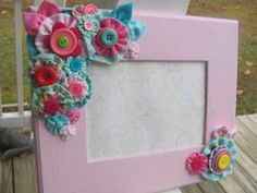 YoYo's Pink Nursery Picture Frame by GrandNichols on Etsy