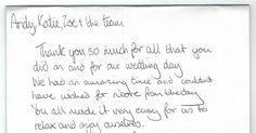 #Praise #Letter #Wedding