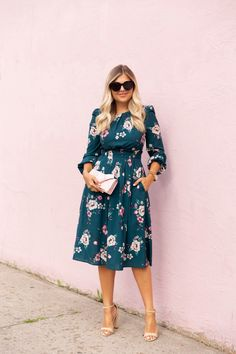 Falling for Fall - Krystin Lee Stylish Dresses For Girls, Simple Dresses, Cute Dresses, Girls Dresses, Modest Outfits, Modest Fashion, Fashion Dresses, Casual Outfits, Casual Chic Summer