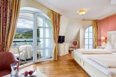 Seeresidenz mit Seeblick Rooms, Curtains, Home Decor, Houses, Double Room, Homes, Bedrooms, Blinds, Decoration Home