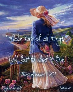 1 Thessalonians 5:21 - Humility is the key to finding the Truth. It has been mishandled by many. God's NAME has been deleted and disgraced for centuries and Catholics are now forbidden to even utter the name in scripture readings, hymns or prayer. Satan rejoices when we ignore Almighty God in this way.