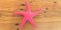 Just Crafty Enough – Project: Seamless Knit Starfish..Beach inspired knitting project with free pattern and instructions.