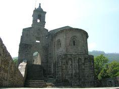 La Coruña Mosteiro de San Xoán de Caaveiro