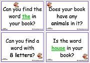 good idea for cards to send in students homework folder or for conferences.make into higher order thinking questions for small groups Reading Resources, Reading Activities, Teacher Resources, Reading Games, Teacher Tips, Teaching Ideas, Phonics Reading, Kids Reading, Guided Reading