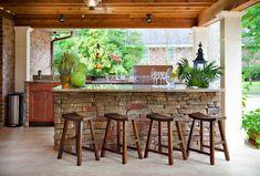 Outdoor Bar Design...my dream!!!