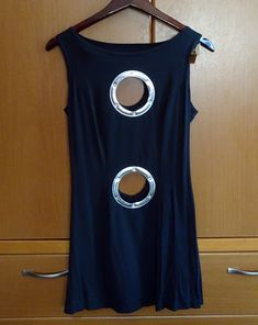 "CYBERDOG ""Porthole"" mini dress - OS"