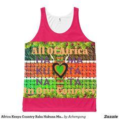 Africa Kenya Country Raha Hakuna Matata All-Over Print Tank Top #Africa #Kenya #Country #Raha #Hakuna #Matata #All-Over #Print #Tank #Top #apparel