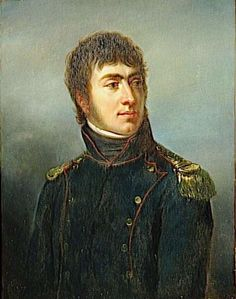 Auguste de Marmont (1774-1852). After the Siege of Toulon where he received his commission, Marmont became Bonaparte's aide-de-camp, remained with him during his disgrace, and accompanied him to Italy and Egypt, winning distinction and promotion to general of brigade.
