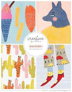 love print studio blog: Creative Quarters...Amy Hodkin