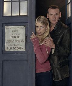 love these two. Billie Piper and Christopher Eccleston as Rose Tyler and The Doctor #9.