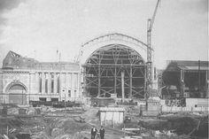 Leipziger Hauptbahnhof - 1915 Lipsy, Paris Skyline, Germany, Louvre, Wanderlust, Travel, Learning, Retro, Vintage