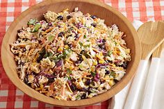 Crunchy Ramen Taco Salad