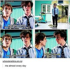 Same here yo #doctorwho #mattsmith #arthurdarvill #rorywilliams