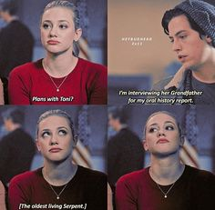Betty's jealous side came out and I was living for it! #bughead #riverdale S2 EP 11