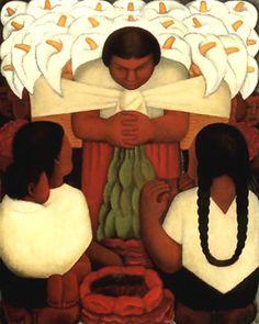 Diego Rivera; Flower Festival
