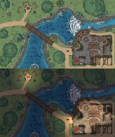 Fantasy Rpg Games, Fantasy City, Fantasy Map, Dnd World Map, Rpg Map, Building Map, Dnd 5e Homebrew, Map Pictures, Dungeons And Dragons Homebrew