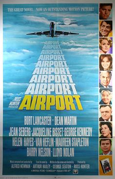 Airport (1970): Melodrama about a bomber on board an airplane, an airport almost closed by snow, and various personal problems of the people involved.