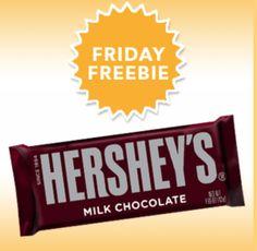 FREE Hershey's Chocolate Bar courtesy of SavingStar