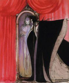 by Yoshitaka Amano, from the Marchen artbook