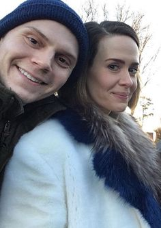 Evan & Sarah aka the true saviors of AHS