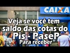VEJA SE VOÇÊ TEM SALDO DAS COTAS DO PIS A RECEBER - YouTube Pis Pasep, Youtube, Baseball Cards, Music, Musica, Musik, Muziek, Music Activities, Youtubers