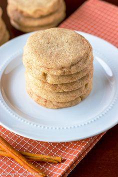 Homemade Snickerdoodle Cookies Recipe